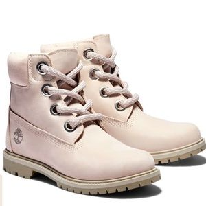 TIMBERLAND® HERITAGE 6-INCH LIGHT PINK BOOTS /9